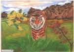 Как рисовать животных на конкурсе